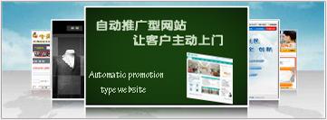 自动推广型网站
